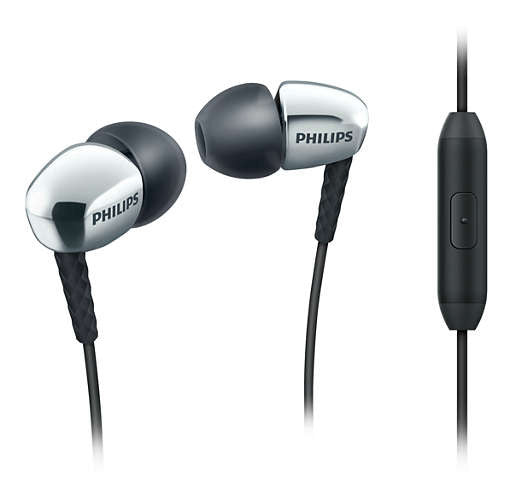 Philips In-Ear Phones with Mic SHE3905SL