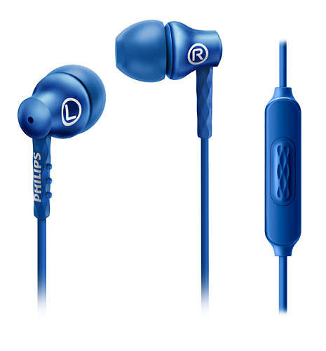 Earphone Philips SHE-8105 With Mic Pay Day 05015572