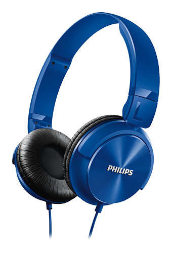 Philips Lightweight Headphone SHL 3060 BL