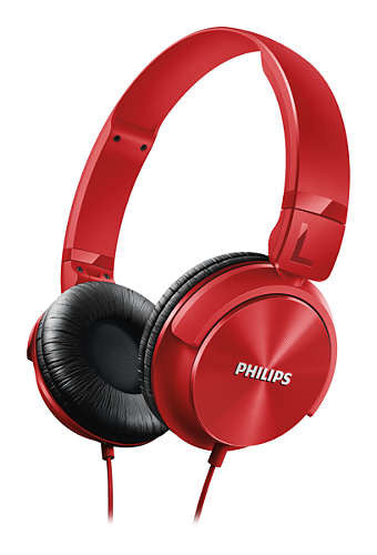 Philips Lightweight Headphone SHL 3060 RD