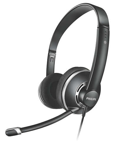 Philips Headphone Skype SHM7410 05017006