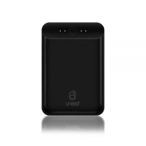 Powerbank UNEED UPB407 Compactbox Q10+Quick Charge 3.0 10.000mAh Hitam 21000312