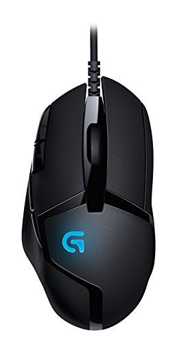 Logitech MOUSE G402 (Hyperion Fury Gaming Mouse with 8 Programmable Buttons)