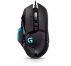 Logitech MOUSE G502 (Proteus Core Tunable Gaming Mouse with Fully Customizable Surface)