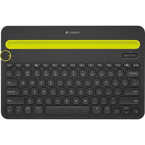 Logitech K480 Bluetooh Multi Device Keyboard - Hitam