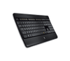 Logitech K800 Wireless Illuminated Keyboard - Black