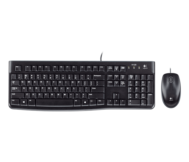 Logitech MK-120 Mouse dan USB Keyboard