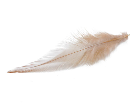 Brown Rooster Saddle Feathers