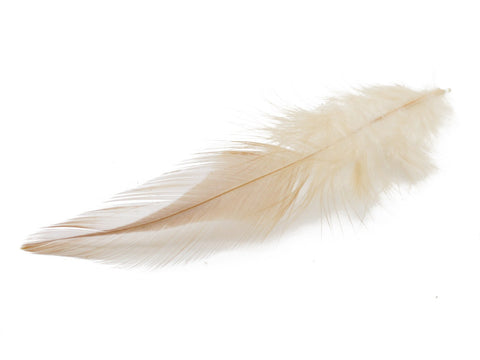 Natural Rooster Saddle Feathers