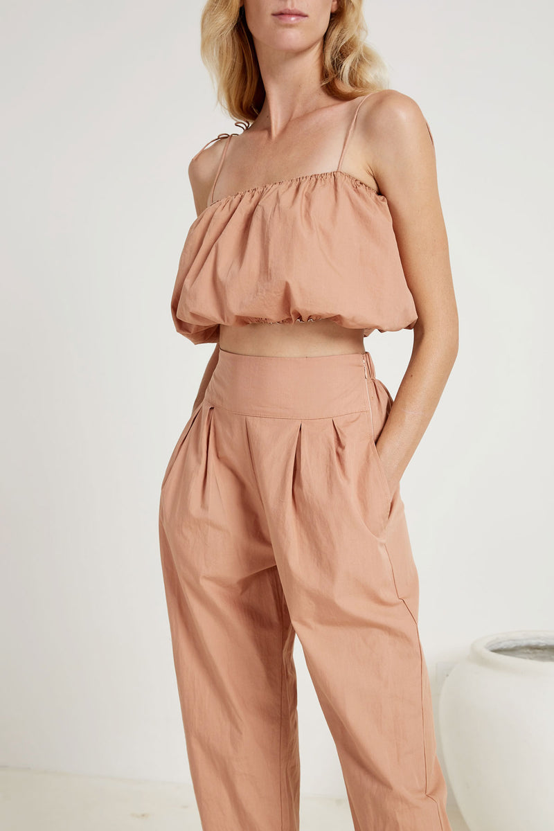 Bandeau Crop | Trouser