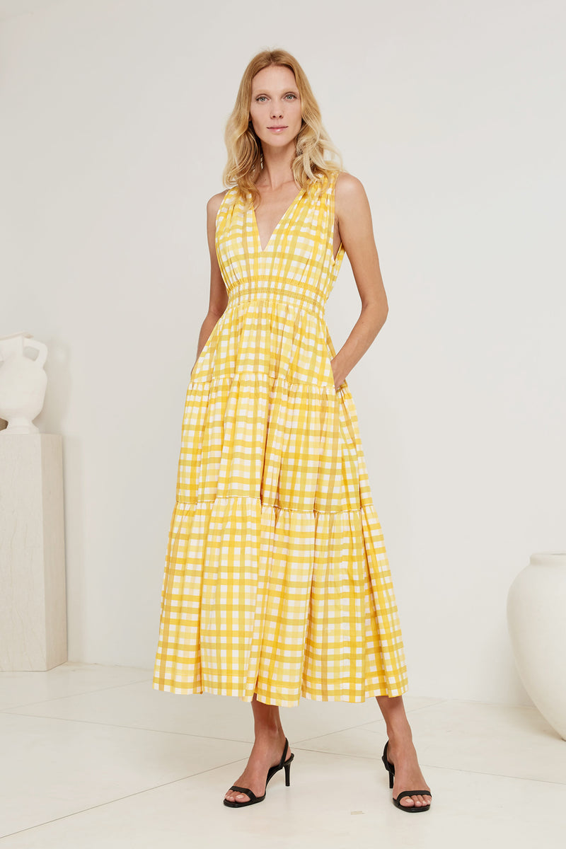Tiered Maxi