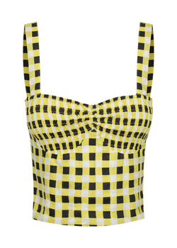 Checkmate Yellow Top