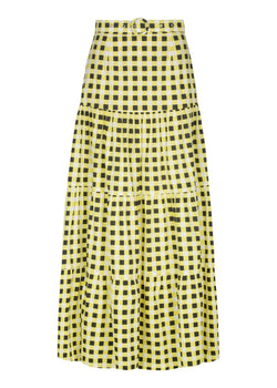 Checkmate Yellow Skirt