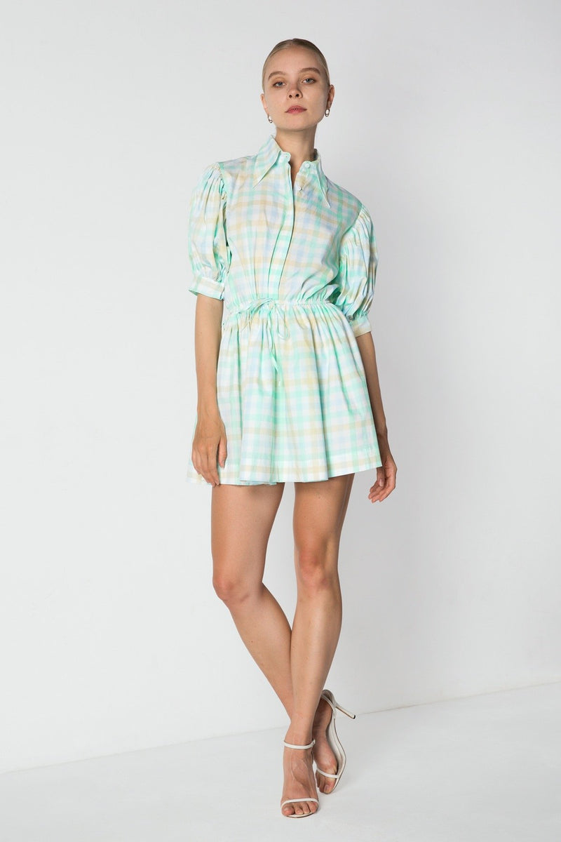 Mini Collar Dress