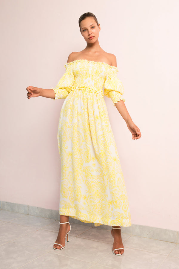 Off Shoulder Maxi