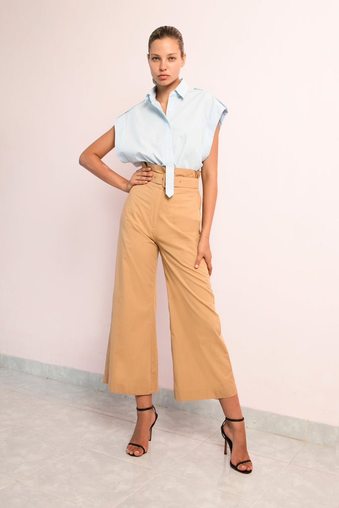 Shirt | High Waisted Pant