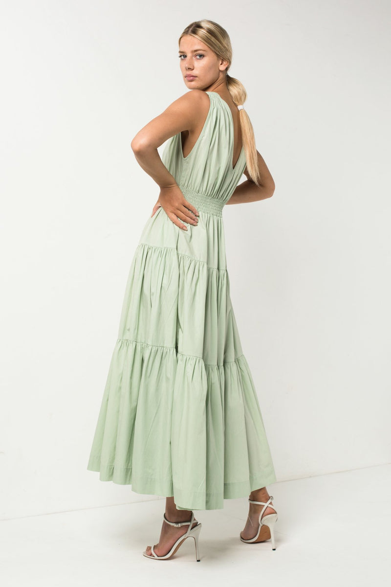 Spark Tiered Maxi Dress