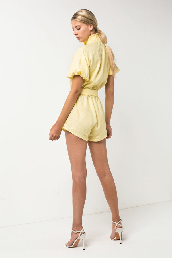 Lemon Romper
