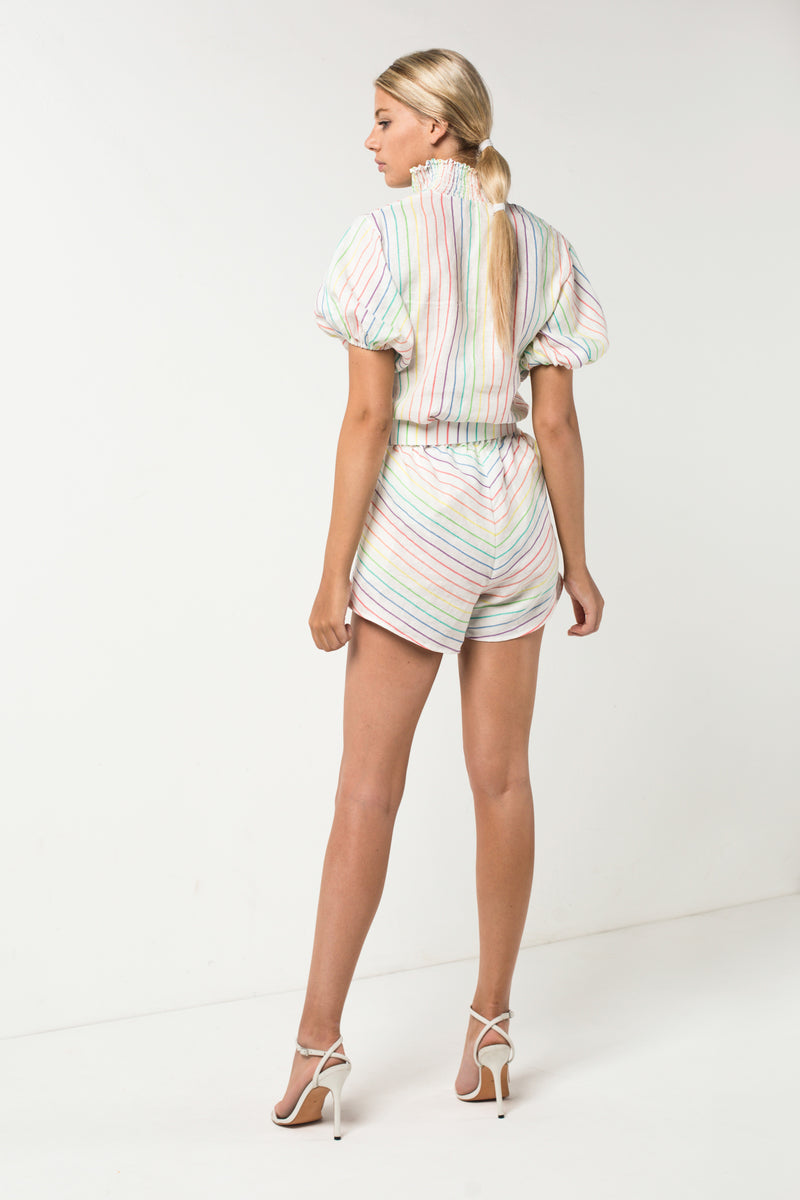 Rainbow Top | Rainbow Short