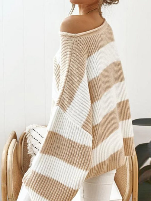 Wide Stripes Sweater