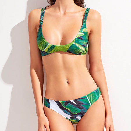 Button Up Cami Bikini
