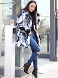 BW Faux Fur Coat