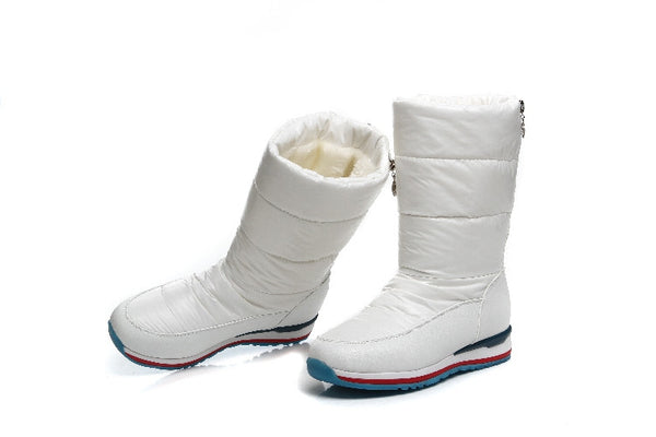 Mid-Calf Thick Snow Boots