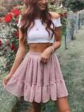 Boho Summer Mini Skirt