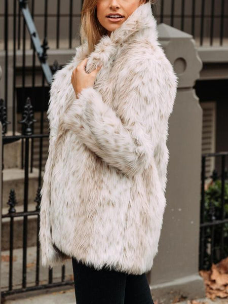 Teddy Faux Fur Coat