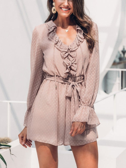 Swiss Taupe Playsuit