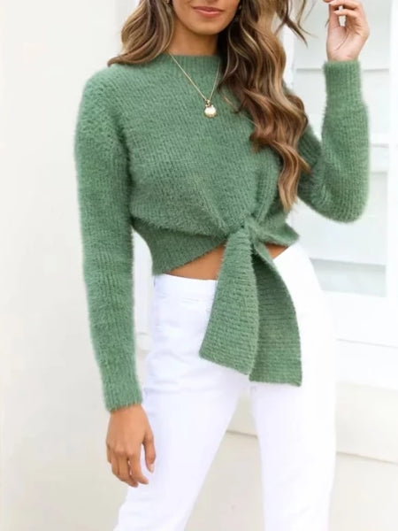 Knot a Mohair Sweater