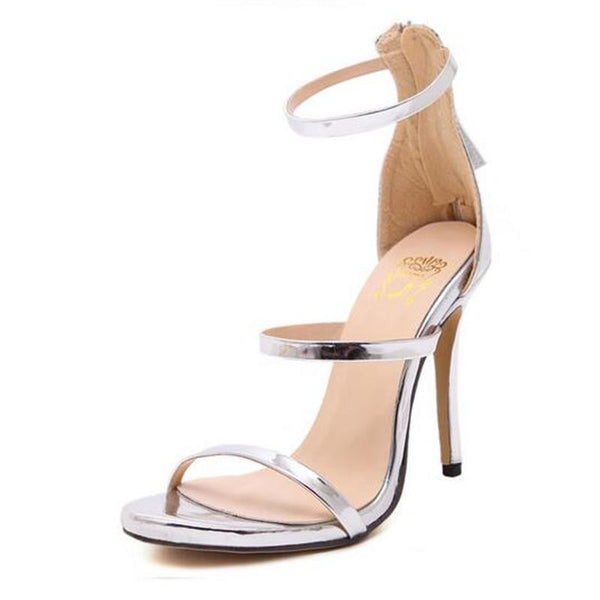 Triple Strap Stilettos