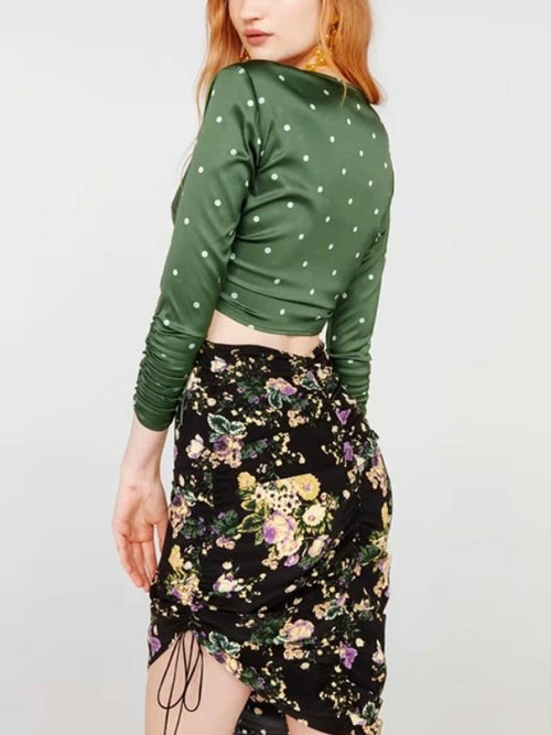 Vintage Molly Floral Skirt