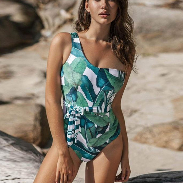 Tropical Leaf Monokini