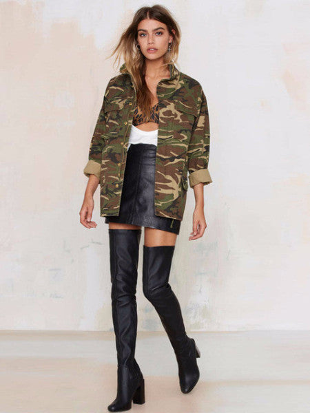 Military Style Coat