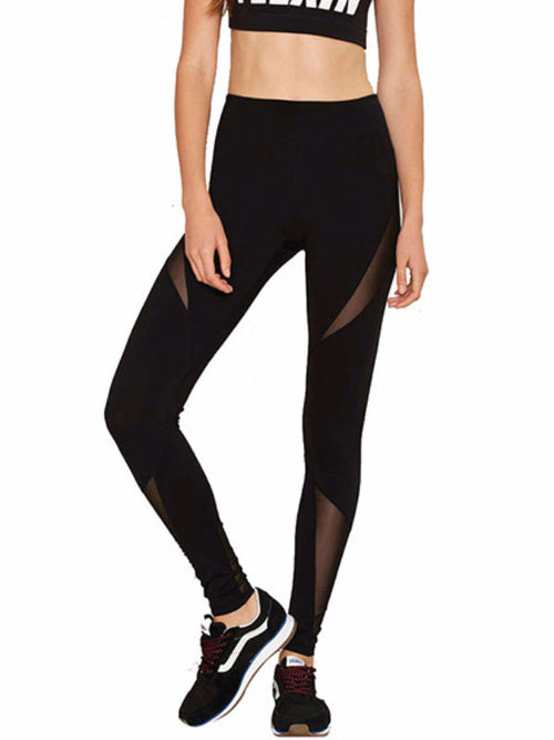 Slash Gash Mesh Leggings