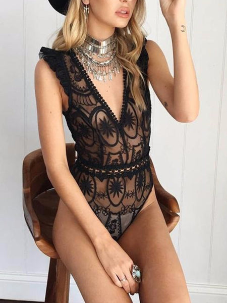Sparkly Sequin Bodysuit