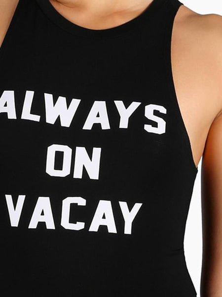 Always On Vacay Bodysuit