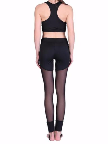 Shorts Mesh Stirrup Leggings