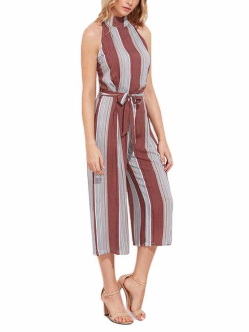 Earth Stripe Jumpsuit