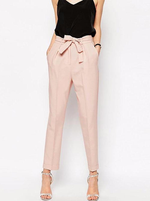 Nude Tapered Pants