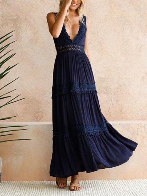 Maiden Lace Maxi Dress