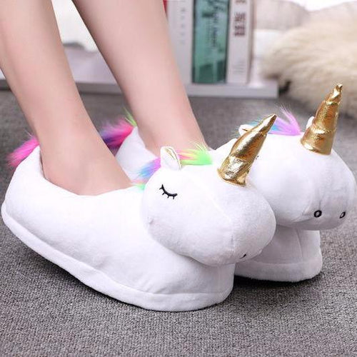 Sleeping Unicorn Slippers