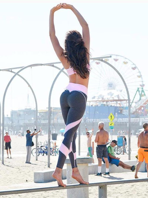 Heart Push Up Leggings