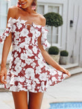 Cosmos Off Shoulder Summer Dress