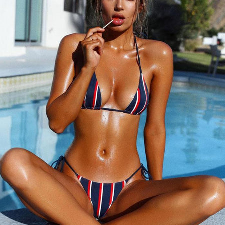 Nautical Stripes Monokini