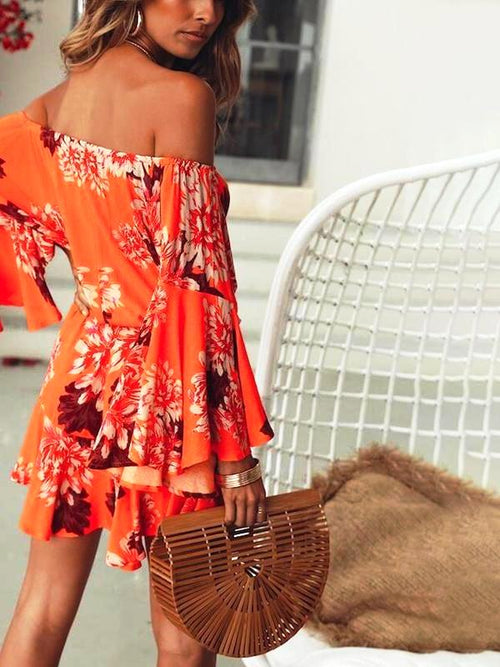 Flary Off Shoulder Playsuit