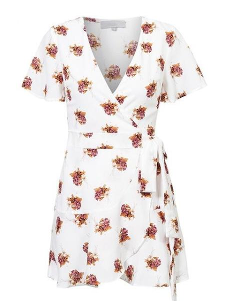 Sweet Pea Wrap Dress