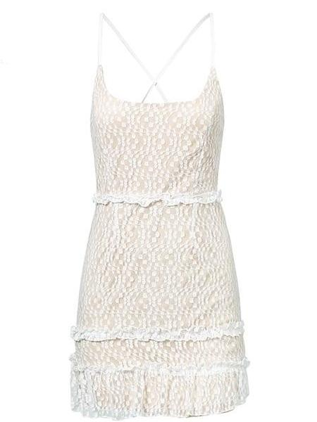 Lacey Baby's Breath Dress
