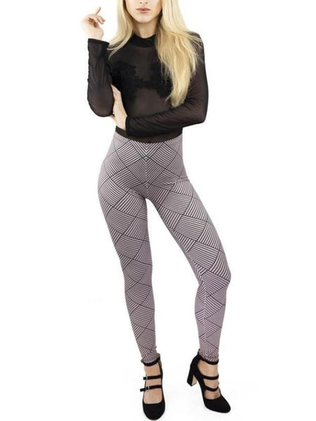 Weaving Lines Leggings